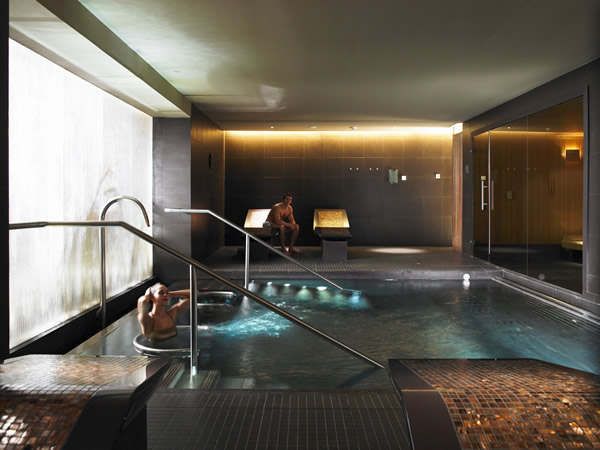 Spa time at The Gleneagles Hotel in central Scotland.