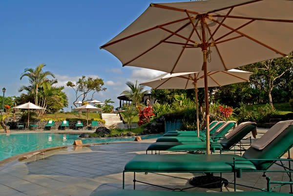 The Royal Palm Hotel in the Galapagos