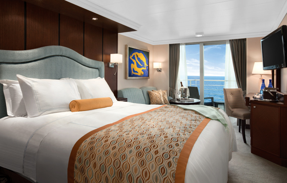 A Veranda stateroom on the Marina.