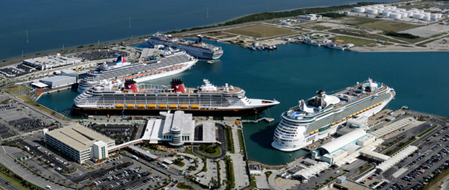 Port Canaveral Is Still Celebrating The April Arrival Of Enchantment Seas Which Joined Sister Ship Freedom In Treating Royal Caribbean