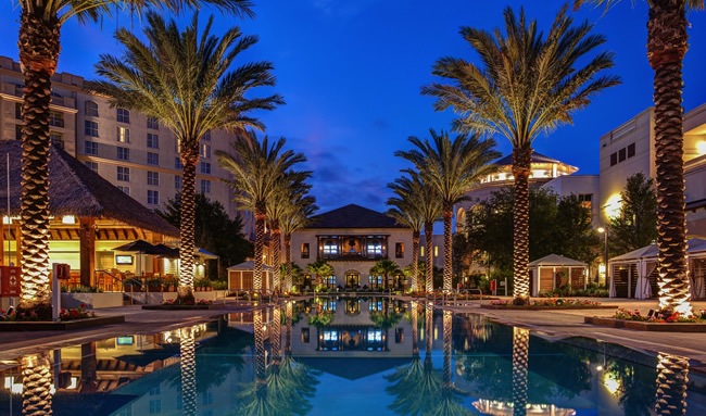 Gaylord Palms Resort & Convention Center in Kissimmee, FL.