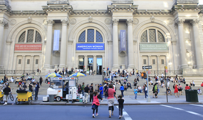 Metropolitan Museum of Art. (Photo courtesy of NYC & Company/Joe Buglewicz.)