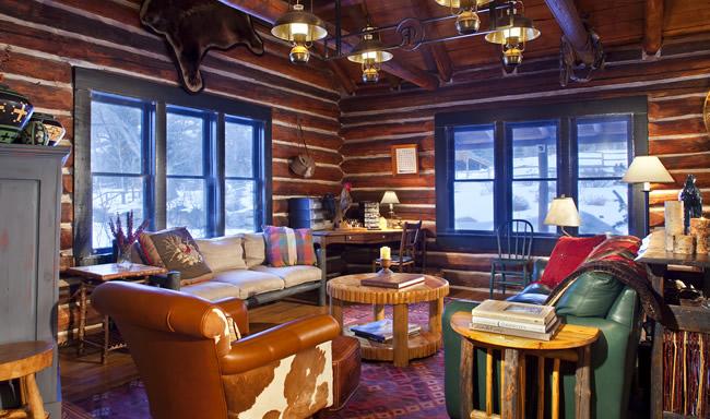 Elk Lodge at Smith Fork Ranch in Colorado.