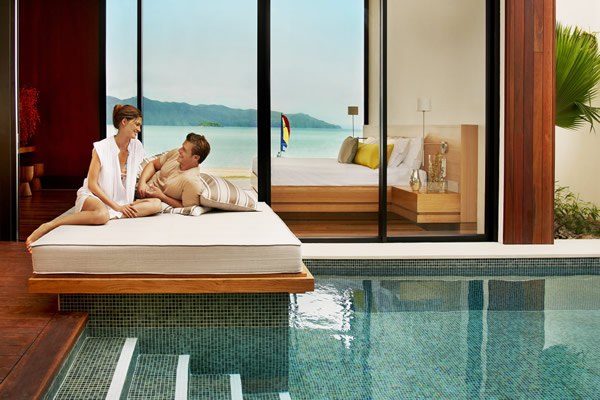 Beach Villa at Hayman at Australia's Great Barrier Reef