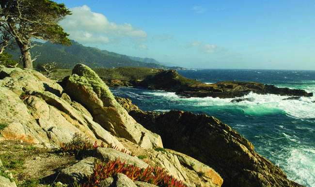 The 9-day California Coastal Holiday itinerary.