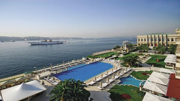 Ciragan Palace Hotel Istanbul in Turkey