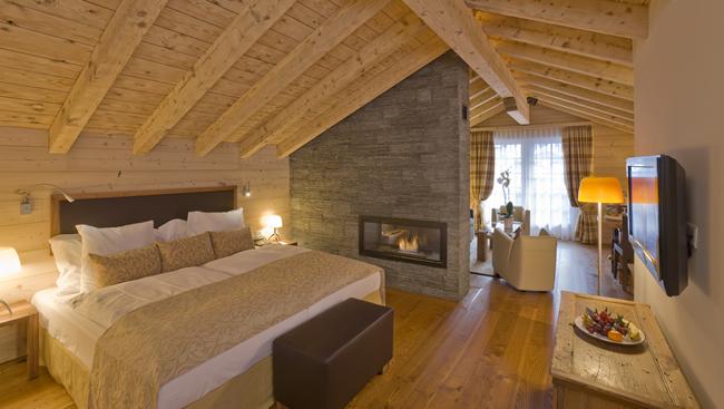 Grand Hotel Zermatterhof Chalet Suite.