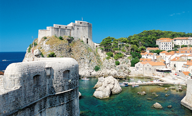 The Mediterranean with MSC Cruises. (Photo courtesy of MSC Crociere.)