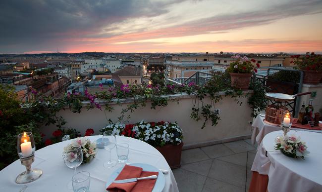 Hotel Mediterraneo in Rome.