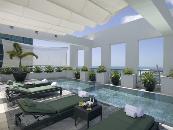 Penthouse Terrace at The Setai