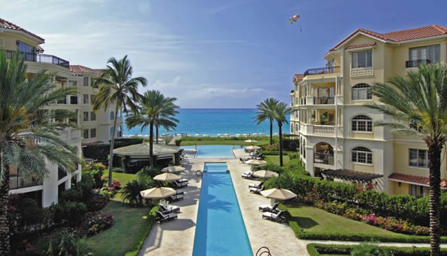 The Somerset on Grace Bay in Turks & Caicos.