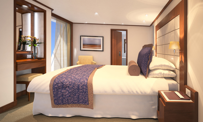 Seabourn Quest Penthouse Spa Suite.