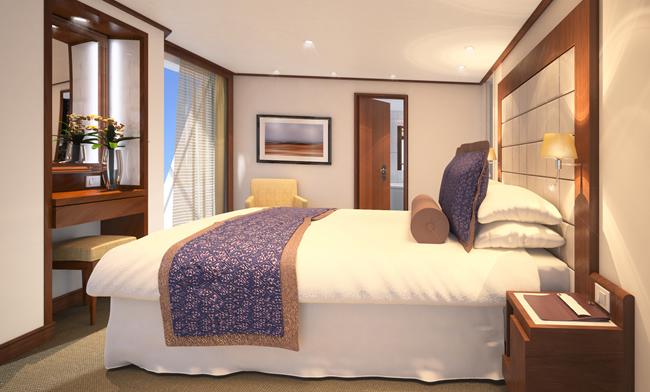 Seabourn Quest Penthouse Spa Suite.