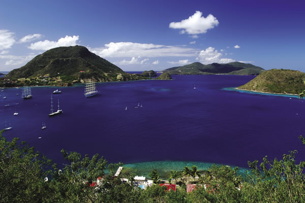 Star Clippers offers itineratries to the Caribbean with stops in Antigua.