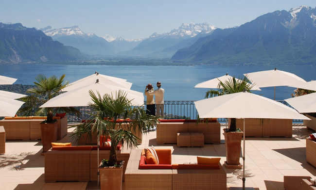 Le Mirador Kempinski Mont-Pelerin, Lake Geneva.