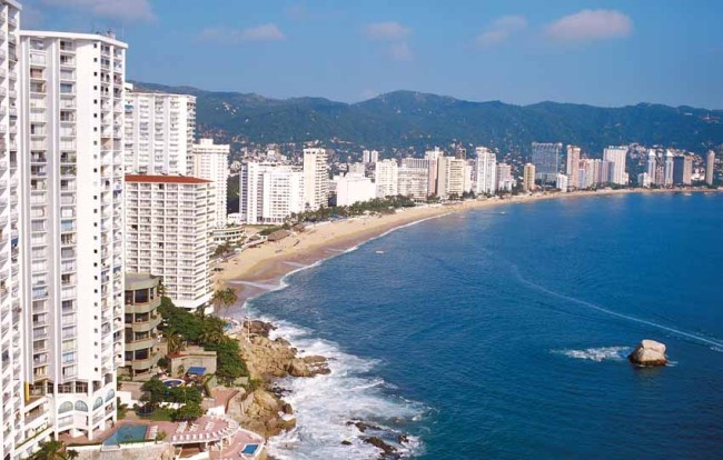 Acapulco, Mexico. One of the cities within Mexico's new Sun Triangle initiative.