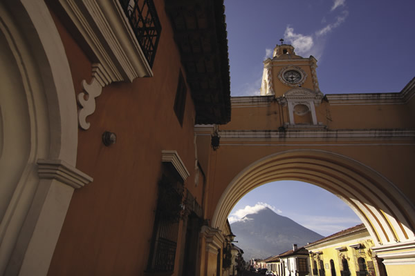 Antigua is known for its colonial churches and edifices.