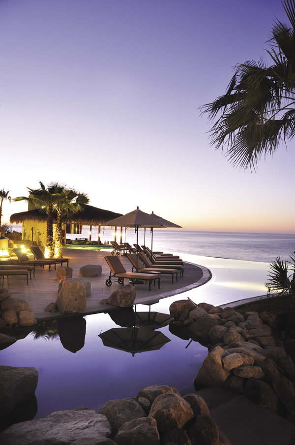 At Grand Solmar, guests can opt to relax poolside
