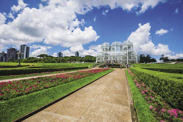 Curitiba's Botanical Garden.