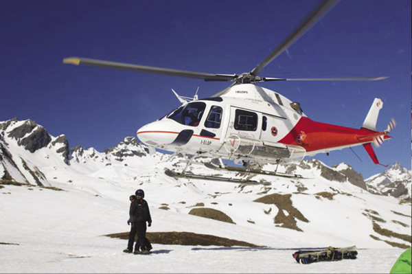 Eleven Experience offers heli-skiing at its Europe properties.
