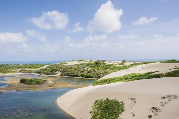 Genipabu Dunes in Natal.