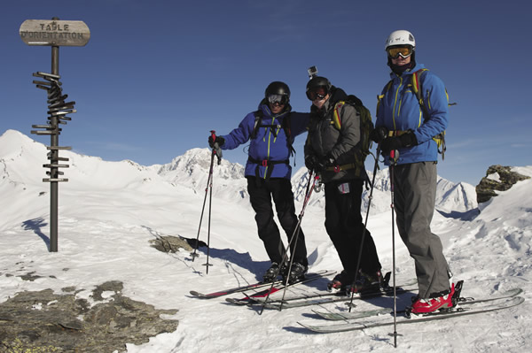 Guests of the chalet can opt to go off-piste skiing