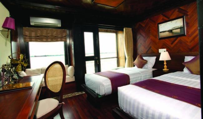 Standard cabin on La Marguerite.
