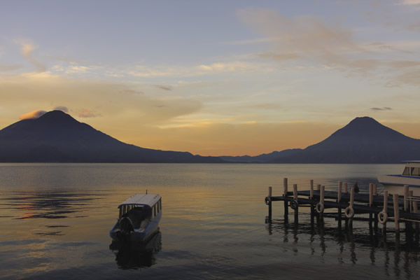 Lake Atitlan is the country's most majestic natural wonder.