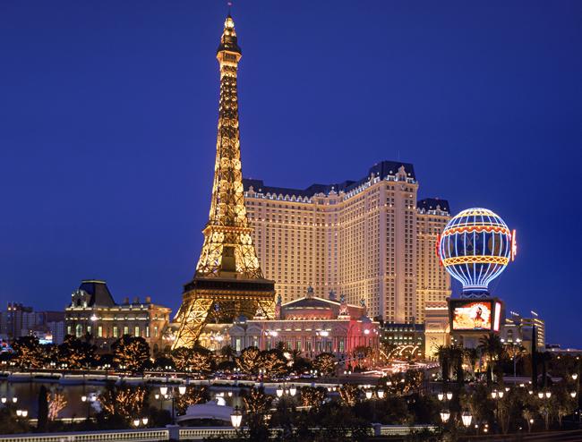 Paris Las Vegas Hotel and Casino.