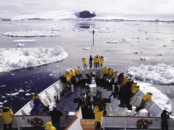 Quark Expeditions is known for its cruises to the Polar region.