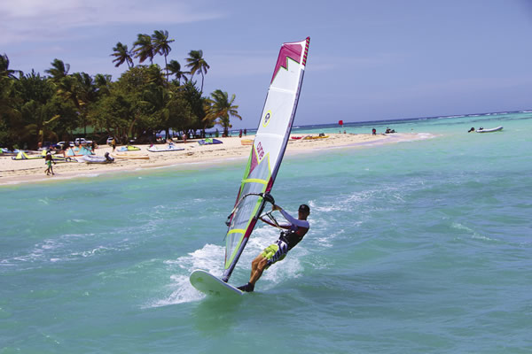 Radical Sports offers watersports on Pigeon Point in Tobago.