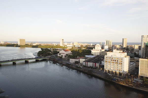 Recife is known as the Brazilian Venice.