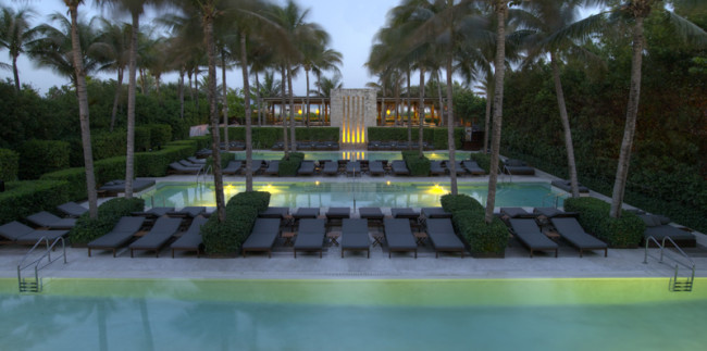 Three pools at The Setai, Miami Beach will be renovated this summer.