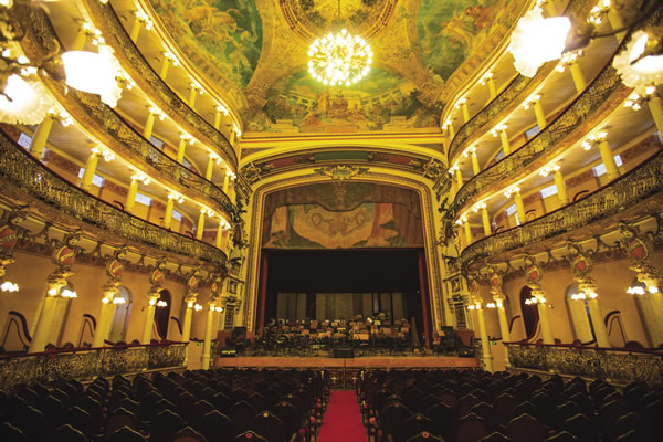 The Teatro Amazonas in Manuas.