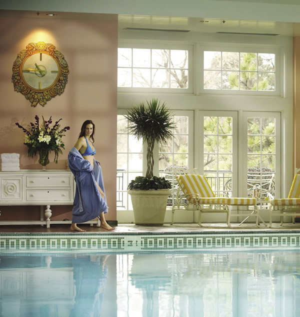 To relax, tell clients to indulge at the Broadmoor's indoor pool