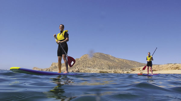 Travelers to this part of Mexico can go paddleboarding above water