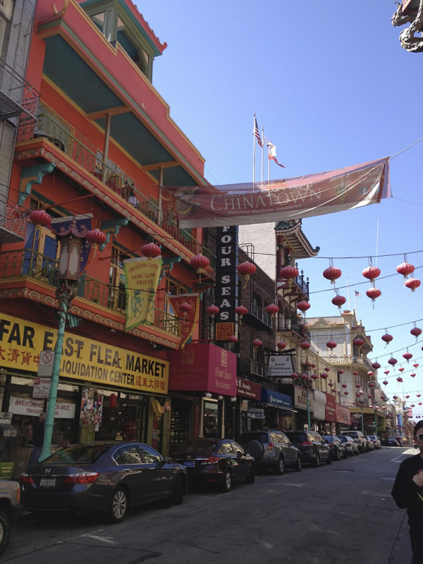 Chinatown is one of the city's most eclectic neighborhoods.