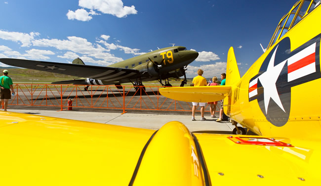 The Wild West Air Fest in Steamboat, CO. (Photo courtesy of Corey Kopischke.)