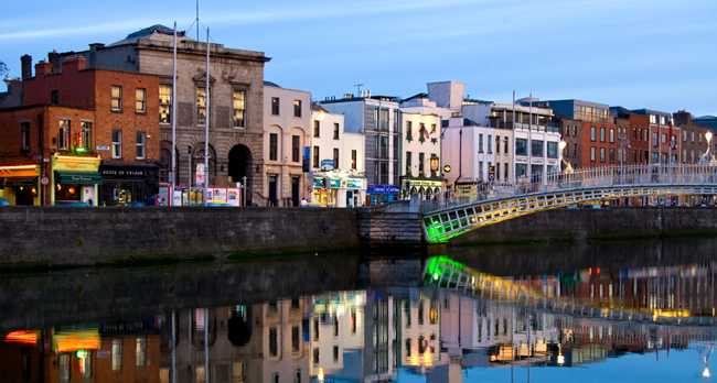 Dublin with Sceptre Tours.