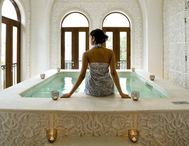 The Spa at The Oyster Box in Durban, South Africa. (Photo courtesy of The Red Carnation Hotel Collection.)