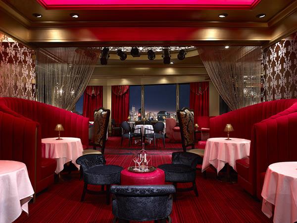 The Starlight Room at Sir Francis Drake Hotel.