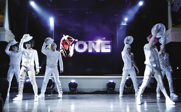 The new Michael Jackson ONE by Cirque de Soleil at Mandalay Bay.