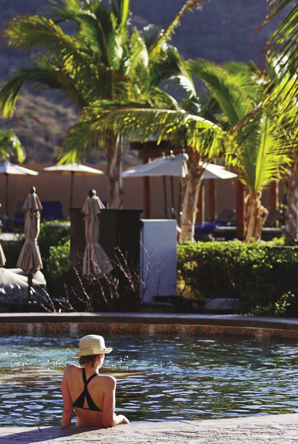 The resort offers ample opportunity to relax.