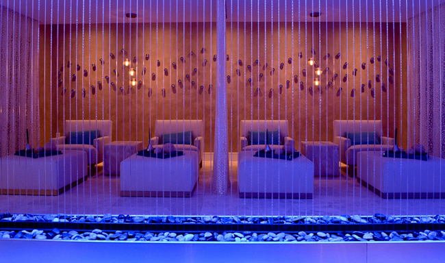 The Relaxation Room at the Heavenly Spa by Westin at The Westin Diplomat Resort & Spa in Florida.