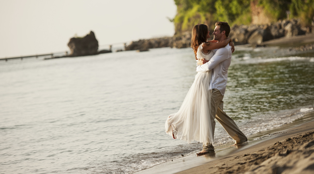 Destination weddings at Anse Chastanet in Saint Lucia.