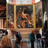 "Art lovers flock to Antwerp's Cathedral of Our Lady, a Gothic jewel that began construction in 1352 and has never been completed, to study priceless masterpieces such as Rubens' ""The Raising of the Cross"" and numerous other examples of Flemish art."