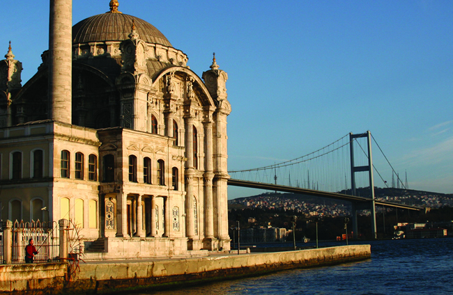 Cruising on the Bosphorus with Crossroads Tours
