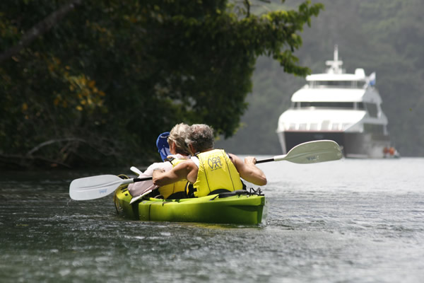 Discovery's itinerary explores the Chagres River