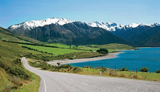 New Zealand: The South Island tour with VBT Bicycling and Walking Vacations.