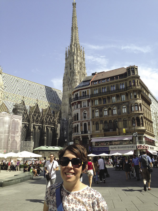 That's me in Vienna.